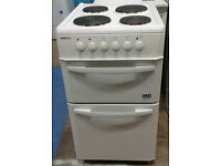 a039 white beko 50cm solid ring electric cooker comes with warranty can be delivered or collected