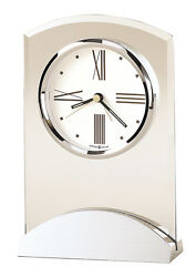 645-397 NEW HOWARD MILLER TABLE CLOCK CALLED TRIBECA    645397