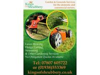 Kings Of Shrubbery - Gardening Services - Shropshire
