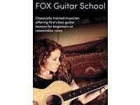 Guitar Lessons by Classically Trained Musician