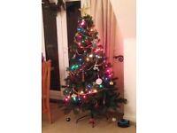 6ft green christmas tree