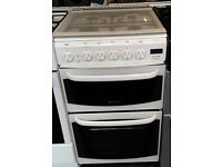 Z160 white cannon 50cm gas cooker comes with warranty can be delivered or collected