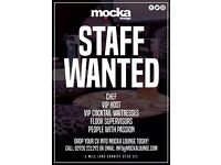Full time & part time waitress position