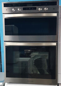 Z142 stainless steel rangemaster built in double oven comes with warranty can be delivered