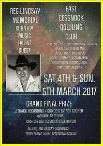 COUNTRY MUSIC TALENT QUEST - Recording Session (Main Prize) Cessnock Cessnock Area Preview