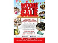 Free Entry Table Top Sale