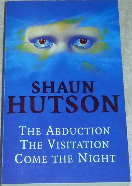 Shaun Hutson SIGNED The Abduction, Visitation, Come the Night (paperback)