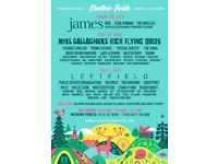 Electric Fields Weekend Camping Tickets x 2