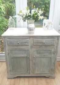 Refurbished Vintage Dresser / Storage Cupboard. Layered in Annie Sloan paint and waxed.