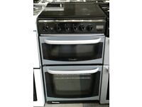 h041 silver cannon 50cm gas cooker comes with warranty can be delivered or collected