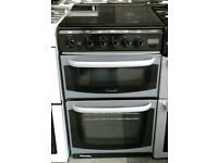 a041 silver cannon 50cm gas cooker comes with warranty can be delivered or collected