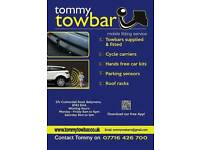 Towbars supplied & fitted Northern Ireland Tommy Towbar