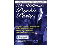 Psychic Parties in your own home at a date best for you!!