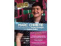 Laugh in the attic presents Marc Christie - five star review