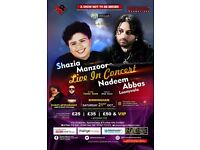 Tickets for shazia and Nadeem tickets are on same now so please contact me thank