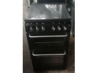 BB159 black new world 50cm gas cooker comes with warranty can be delivered or collected
