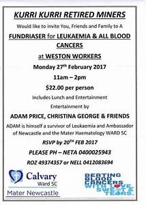 Fundraiser being held at Weston Workers Warners Bay Lake Macquarie Area Preview