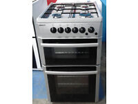z588 silver beko 50cm gas cooker comes with warranty can be delivered or collected