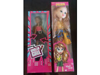 Two dolls in boxes - stocking fillers