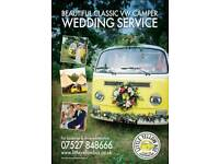 Volkswagen Campervan wedding service