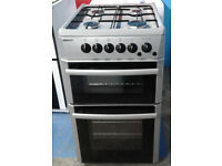 A588 silver beko 50cm gas cooker comes with warranty can be delivered or collected