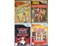 Wii GAMES BOXED £5 EACH
