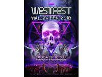 West fest ticket vip!