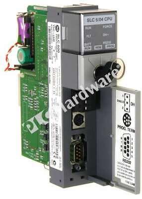 Allen Bradley 1747-l543 C Slc 500 5 04 Cpu Processor Controller Dh Frn 11 Qty