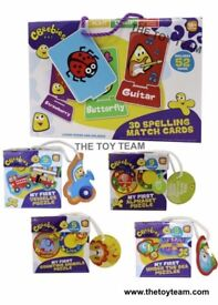 Brand New CBeebies Puzzles & Match Cards Bundle for Christmas