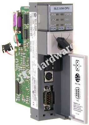Allen Bradley 1747-l542 Series C Slc 504 Cpu Controller Dh Rs232 Frn 11 Qty
