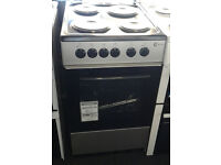 a343 silver flavel 50cm solid ring electric cooker new graded with 12 month warranty can deliver