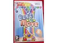 Wii BUST A MOVE GAME BOXED £5