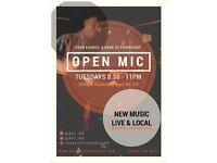 Eran Karniel + Open Mic at Bank of Friendship Highbury- Every Tuesday 8pm sign up.