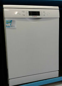 j348 white bosch dishwasher new graded with manufacturers warranty can be delivered or collected