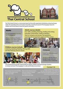 Want to learn to speak Thai Language (starting October 2016) Melbourne CBD Melbourne City Preview