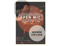 Musicians wanted- Eran Karniel + Open Mic at Bank of Friendship Highbury- Every Tuesday 8pm sign up
