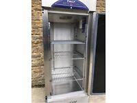 williams single door reach in fridge