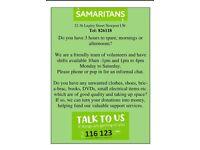 samaritans charity shop