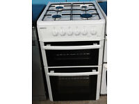 Z579 white beko 50cm gas cooker comes with warranty can be delivered or collected