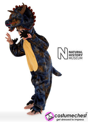 Triceratops Costume For Kids (7-9 Years Natural History Museum Triceratops Costume For Kids By Pretend To)