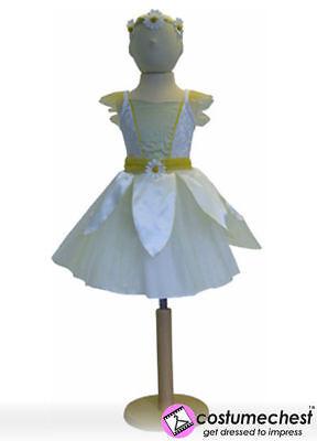 6-8 Jahre Daisy Fairy Mädchen Kleid Party Brautjungfer Stirnband Kostüm von