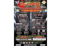 Boltfest Festival tickets Queens Park Bolton 26/27th May 2018 Only £3.50 each