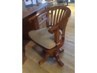 Beautiful Barker and Stonehouse Office Desk and Chair
