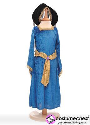 Kinder Mädchen Jungen 9-11 Jahre Queen Mary Tudor-Kostüm von so tun, als to Bee