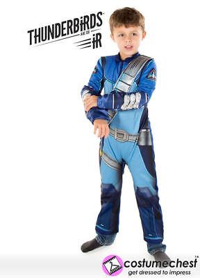 ds Scott Tracy Jungen Kinder Itv Offiziell Lizenziert Kostüm (Thunderbird Kostüm)