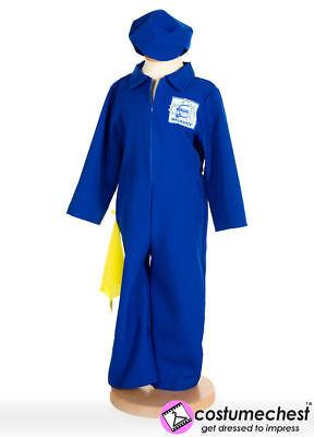 Girl Mechanic Costume (3-5 years Mechanic Dress Up By Pretend To)