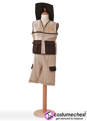5-7 years Safari Ranger Hunter Costume by Pretend To - Safari Ranger Kostüm