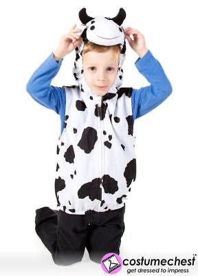 Qualität Kinder Plüsch Kuh Kostüm Reißverschluss Top Geburt - Weibliche Kuh Kostüme