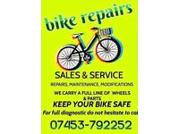We fix bicycle 07453792252