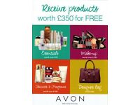 Work From Home As An Avon Beauty Rep! Receive Products Worth £350 For Free